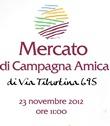 COLDIRETTI ROMA: INAUGURAZIONE DEL MERCATO DI CAMPAGNA AMICA DI VIA TIBURTINA 695